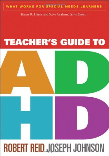 Teacher's Guide to ADHD   2012 edition cover