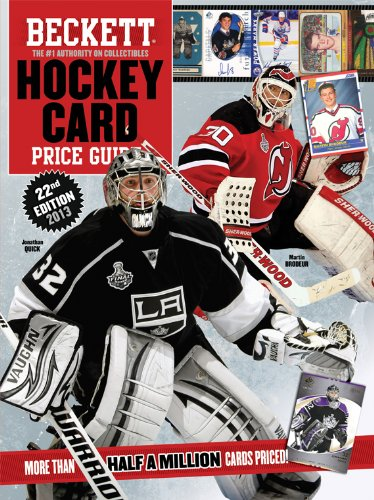 Beckett Hockey Card Price Guide: 2013 Edition  2013 9781936681792 Front Cover