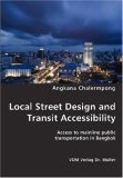 Local Street Design and Transit Accessibility N/A 9783836420792 Front Cover