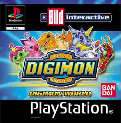 Digimon World PlayStation artwork