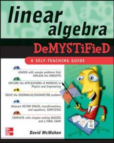 Linear Algebra Demystified   2006 edition cover