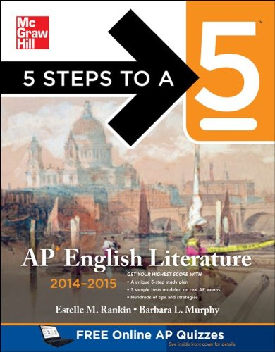 5 Steps to a 5 AP English Literature, 2014-2015 Edition  5th 2013 edition cover