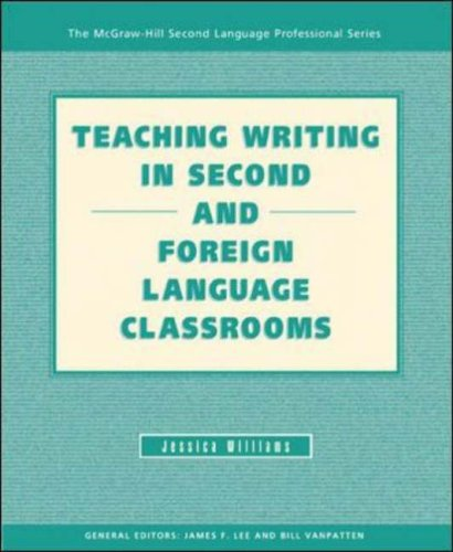 Teaching Writing in Second and Foreign Language Classrooms   2005 edition cover