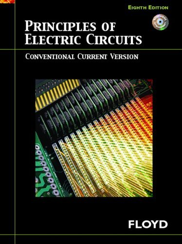 Principles of Electric Circuits Conventional Current Version 8th 2007 (Revised) edition cover