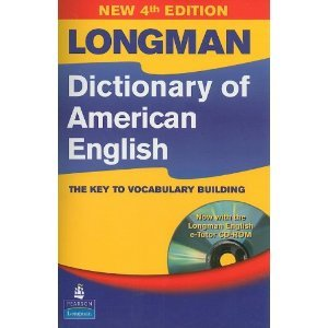 Longman Dictionary of American English, 4th Edition (hardcover with CD-ROM)  4th 2008 edition cover