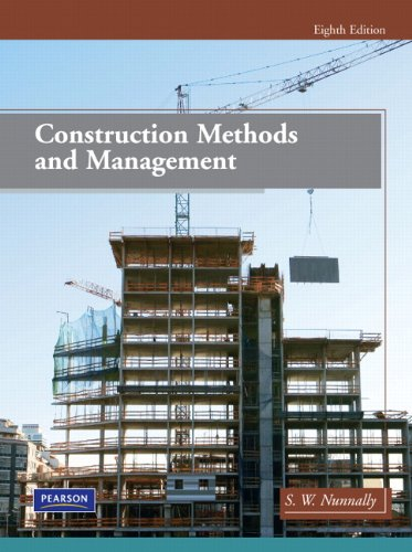 Construction Methods and Management  8th 2011 edition cover