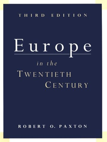 Europe in the 20th Century 3rd 1997 edition cover