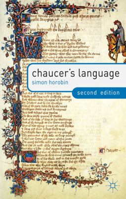 Chaucer's Language  2nd 2012 (Revised) edition cover