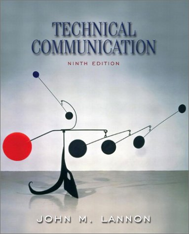 Technical Communication  9th 2003 edition cover