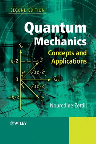 Quantum Mechanics Concepts and Applications 2nd 2008 edition cover