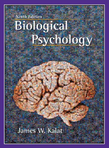 Biological Psychology  9th 2007 edition cover