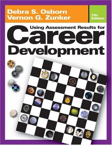 Using Assessment Results for Career Development  7th 2006 (Revised) edition cover