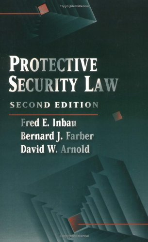 Protective Security Law  2nd 1996 (Revised) 9780750692793 Front Cover