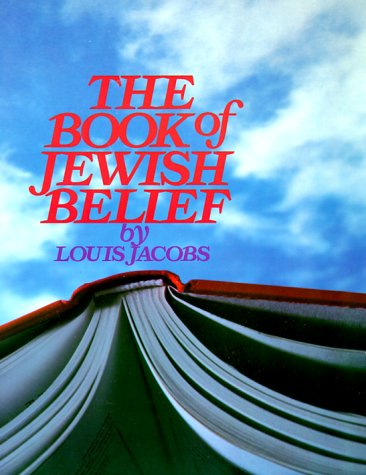 Book of Jewish Belief 1st edition cover