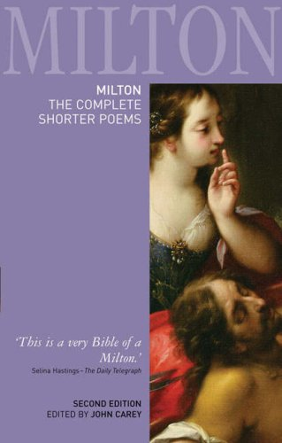 Milton The Complete Shorter Poems 2nd 2007 (Revised) edition cover