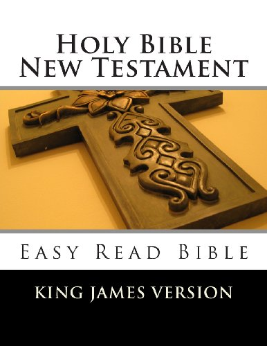 Holy Bible New Testament King James Version Easy Read Bible N/A 9781492397793 Front Cover