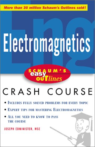 Schaum's Easy Outline of Electromagnetics  2nd 2003 9780071398794 Front Cover