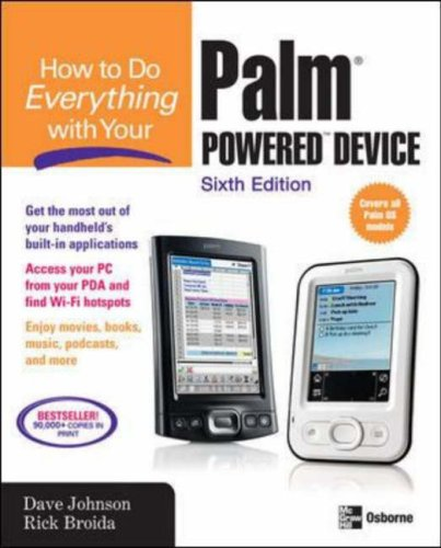 Palm Powered Device  6th 2007 (Revised) edition cover
