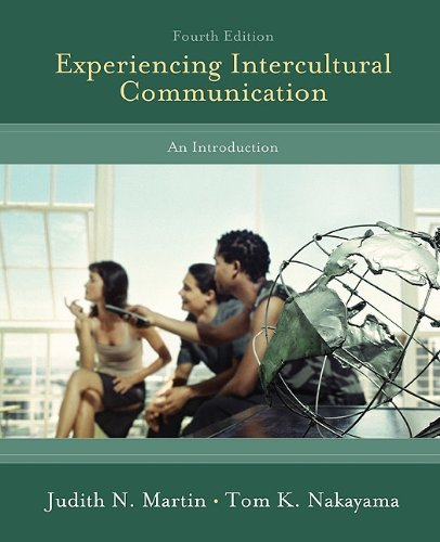 Experiencing Intercultural Communication An Introduction 4th 2011 edition cover