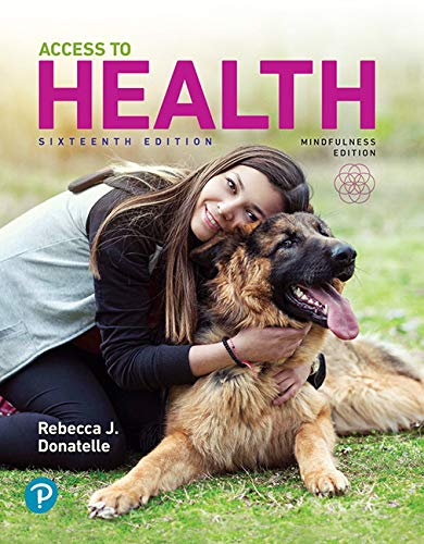 Access to Health:   2019 9780135173794 Front Cover