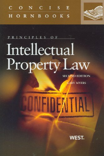 Principles of Intellectual Property Law  2nd 2013 (Revised) edition cover