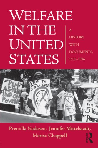 Welfare in the United States A History with Documents, 1935-1996  2009 edition cover