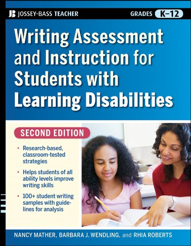 Writing Assessment and Instruction for Students with Learning Disabilities  2nd 2009 edition cover