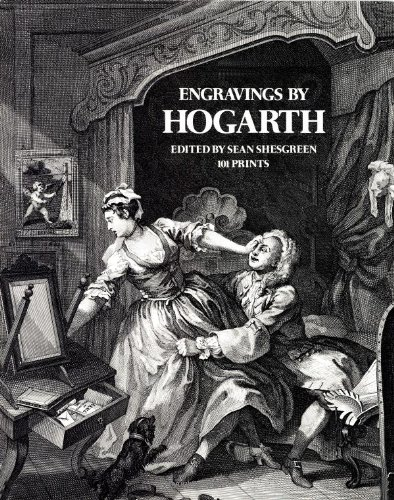 Engravings by Hogarth   1973 9780486224794 Front Cover