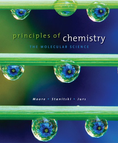 Principles of Chemistry The Molecular Science  2010 edition cover