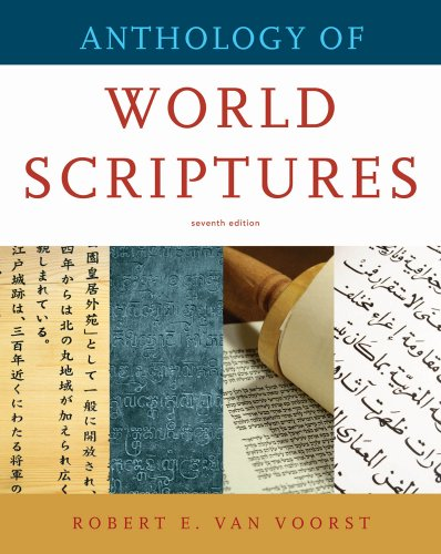 Anthology of World Scriptures  7th 2011 edition cover