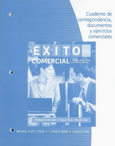 Exito Comercial  5th 2011 (Student Manual, Study Guide, etc.) 9780495907794 Front Cover
