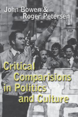 Critical Comparisons in Politics and Culture   1999 edition cover