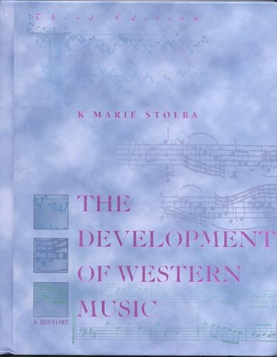 Development of Western Music A History 3rd 1998 edition cover