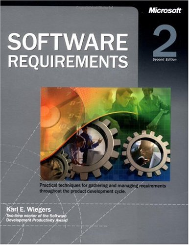 Software Requirements  2nd 2003 (Revised) edition cover