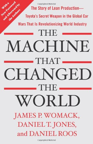 Machine That Changed the World The Story of Lean Production-- Toyota's Secret Weapon in the Global Car Wars That Is Now Revolutionizing World Industry  2007 edition cover