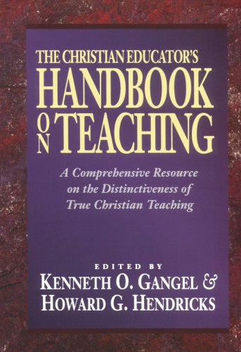Christian Educator's Handbook on Teaching  Reprint  edition cover