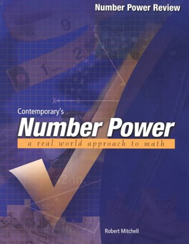 Contemporary's Number Power Number Power Review a Real World Approach to Math  2000 edition cover