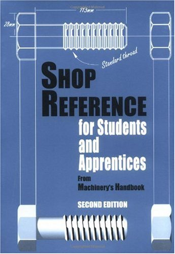 Shop Reference for Students and Apprentices  2nd 2000 edition cover