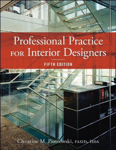 Professional Practice for Interior Designers  5th 2014 9781118090794 Front Cover