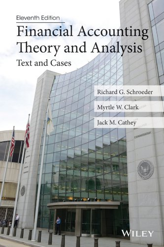 Financial Accounting Theory and Analysis Text and Cases 11th 2014 edition cover