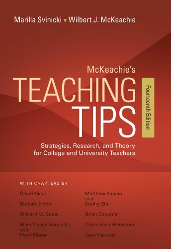 Mckeachie's Teaching Tips:   2013 9781133936794 Front Cover