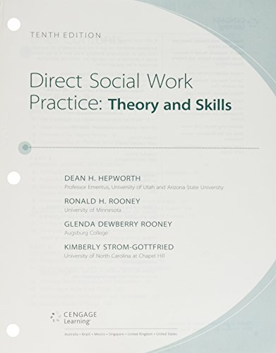 Bundle: Empowerment Series: Direct Social Work Practice: Theory and Skills, Loose-Leaf Version, 10th + MindTap Social Work, 1 Term (6 Months) Printed Access Card  10th 2017 9781337129794 Front Cover