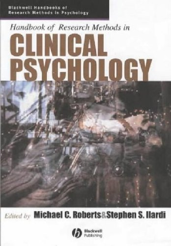 Handbook of Research Methods in Clinical Psychology   2005 edition cover