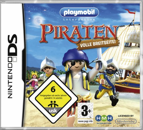 Playmobil Piraten: Volle Breitseite Nintendo DS artwork