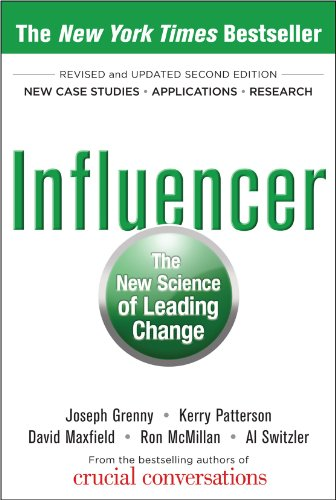 Influencer The New Science of Leading Change 2nd 2013 (Revised) edition cover