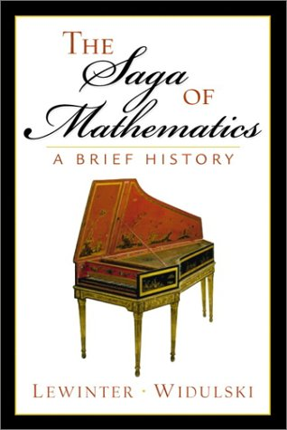Saga of Mathematics A Brief History  2002 edition cover