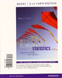 Elementary Statistics Using the TI-83/84 Plus Calculator Books a la Carte Plus NEW MyStatLab with Pearson EText -- Access Card Package  4th 2015 9780133873795 Front Cover