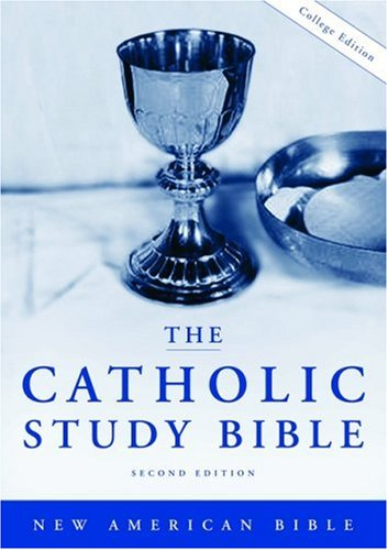 Catholic Study Bible  2nd 2006 edition cover