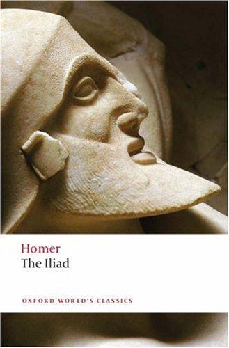 The Iliad (Oxford World's Classics) N/A edition cover