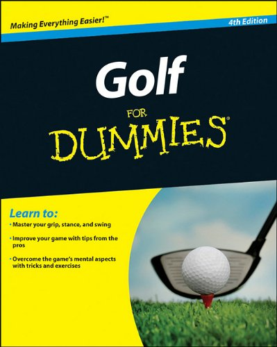 Golf for Dummies�  4th 2011 9780470882795 Front Cover